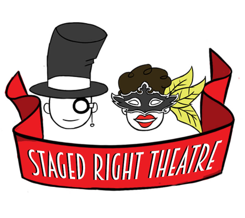 Staged Right theatre logo